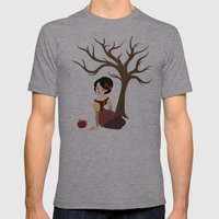 Skin White as Snow Mens Fitted Tee Athletic Grey SMALL