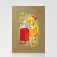 Retro Sailor Venus Stationery Cards