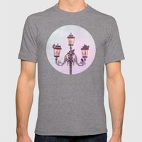 MAGICAL VENICE | Pink La… Mens Fitted Tee Tri-Grey SMALL