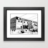 Bloomington I Framed Art Print