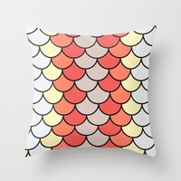 Slice Of Bright Throw Pillow