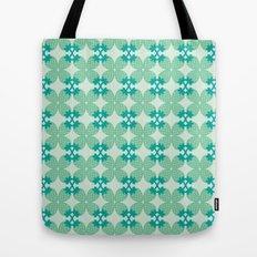 Pattern: Blue Strawberries Tote Bag