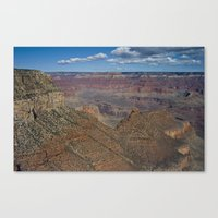 The Grand Canyon Dry Color Canvas Print