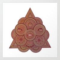 Euclidean Perfection Art Print