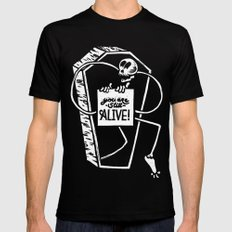 You Are Still Alive Mens Fitted Tee Black SMALL