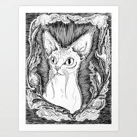 The Sphinx Art Print
