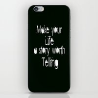 Life Story iPhone & iPod Skin