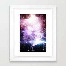 Space Cloudz Framed Art Print
