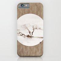Scots Pine Paper Bag Sepia iPhone 6 Slim Case