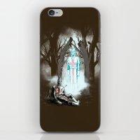 The Fallen Templar iPhone & iPod Skin