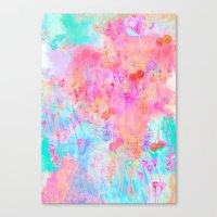 Floral Blush Canvas Print