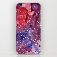 Born At The Heart Of A S… iPhone & iPod Skin