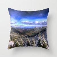 Winter Vision Throw Pillow