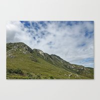 African Mountains Canvas Print