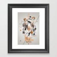 SPURS Tribute - Parker G… Framed Art Print