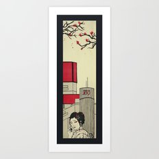 Moshi Moshi Art Print