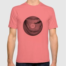 talk dirty to me Mens Fitted Tee Pomegranate SMALL