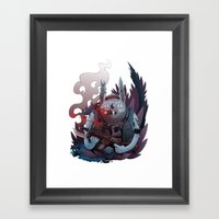 Your Luck Is About To Ch… Framed Art Print