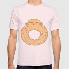 Bovi-doughnut Mens Fitted Tee Light Pink SMALL