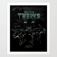 Night Of The Twerks Art Print