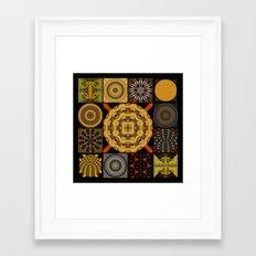 Patchwork2 Framed Art Print