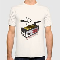 Ghostbusters Mens Fitted Tee Natural SMALL