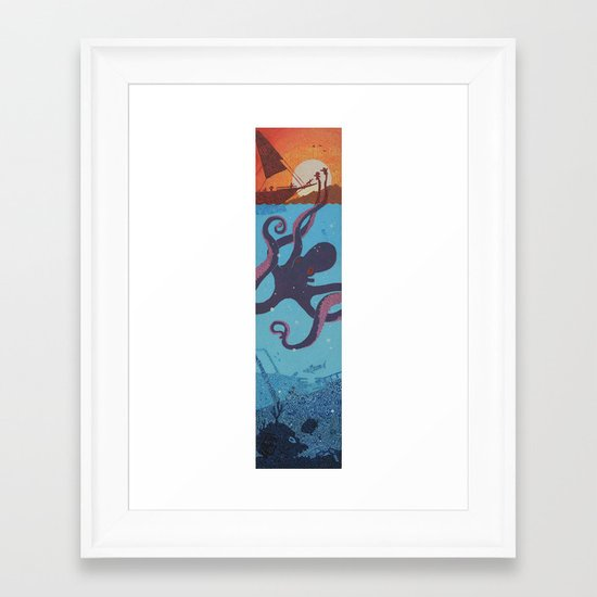 sing of the sirens Framed Art Print