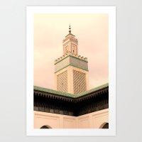 Grande Mosquee De Paris  Art Print