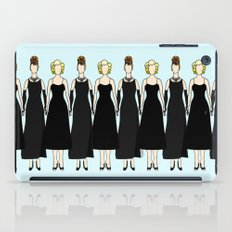 Little Black Dress of Audrey Marilyn iPad Case