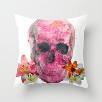 Pretty Reckless  Throw Pillow
