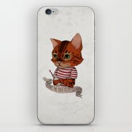 FRANKIE THE CAT iPhone & iPod Skin