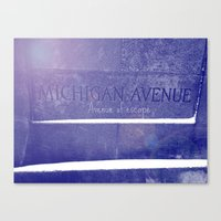 Avenue Of Escape Canvas Print