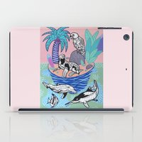 Tropical Island iPad Case