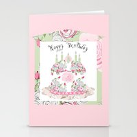Happy Birthday Party Stationery Cards