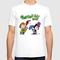 Pepper Ivy Mens Fitted Tee White SMALL