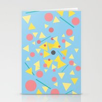 Chaos Around You Stationery Cards