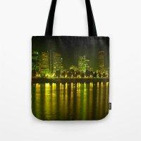 emerald city of roses Tote Bag