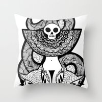 Coroner's Joke no.2 Throw Pillow