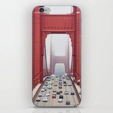 Across The Gate iPhone & iPod Skin