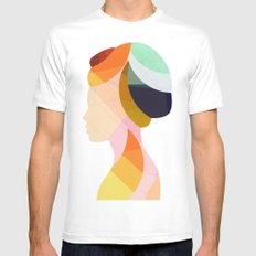 On & On SMALL Mens Fitted Tee White