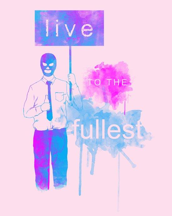 Live Canvas Print