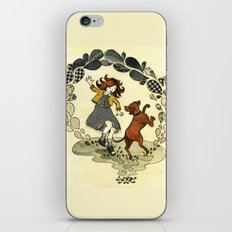 Puddle Hoppers iPhone & iPod Skin