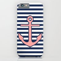 anchor iPhone & iPod Cases featuring Anchor by dani