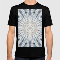 Beautiful kaleidoscope of surf Mens Fitted Tee Black SMALL