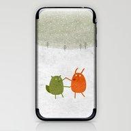 Dancing Wildlife #1 iPhone & iPod Skin