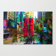 New York 8 Canvas Print