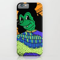 iPhone & iPod Case featuring THE GREEN LADY. by Dave Bell