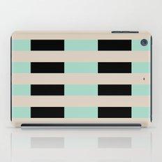 Tan Black Mint Checkerboard iPad Case