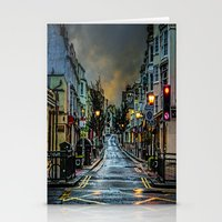 Wet Morning In Kemp Town Stationery Cards
