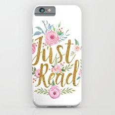 Just Read - White iPhone 6 Slim Case